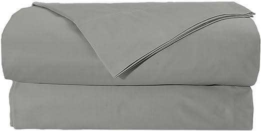 Bed Sheet Sets USA Size Dark Grey Solid 100/% Cotton 1000-TC 15 Inch Deep Pocket