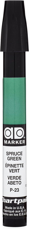 The Original Chartpak AD Marker, Tri-Nib, Spruce Green, 1 Each (P23)