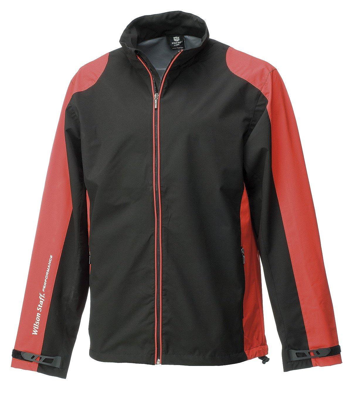WILSON Rain Jacket Mens Performance Chaqueta Impermeable de Golf, Hombre