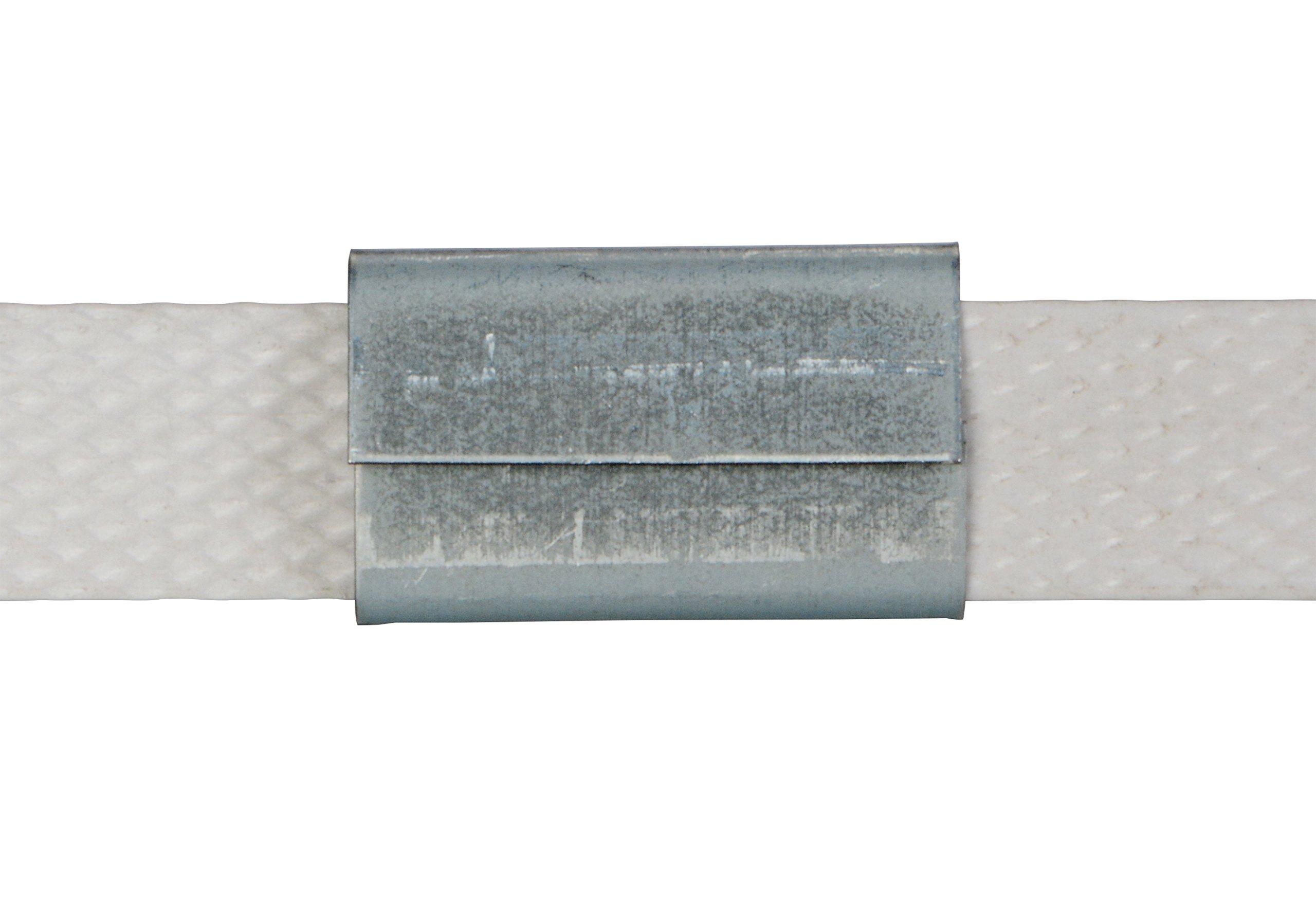 Vestil SSEAL-12 1/2'' Seal for Steel Strapping, Pack of 1000 by Vestil