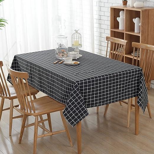 Retro Cotton Linen Table Cloths Rechteck Tisch Esstisch Fur Hotel