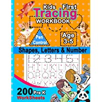 Kids First Tracing Workbook: Learn to Write Letters and Numbers Workbook: Handwriting Practice for Pre kg Kids Ages 3-5…