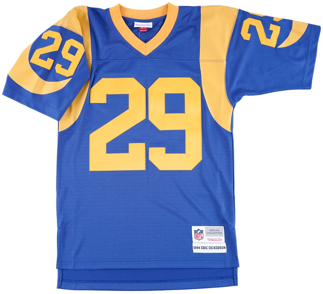 buy online 46c92 c18a7 Mitchell & Ness Eric Dickerson Los Angeles Rams Throwback Jersey