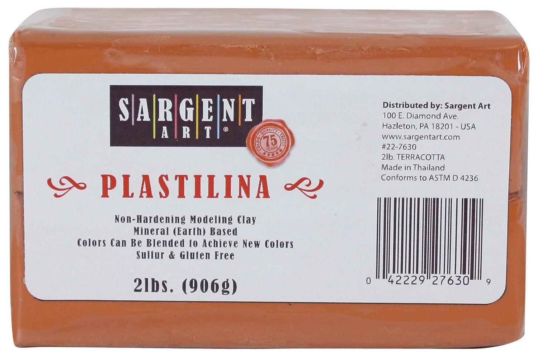 Sargent Art Plastilina Modeling Terracotta Image 1