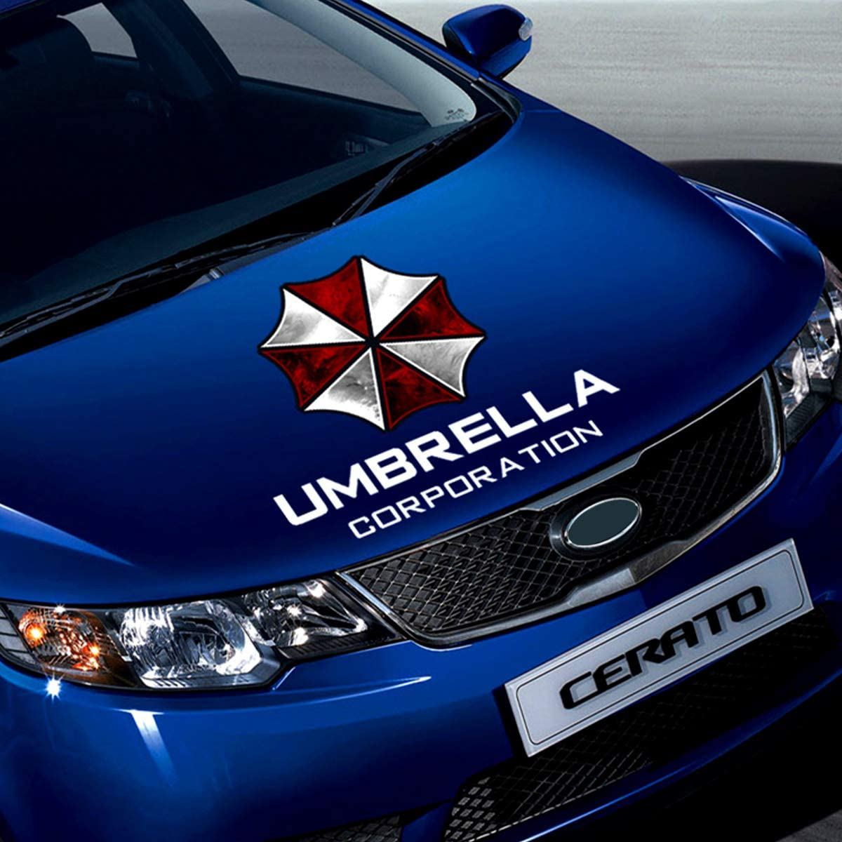 Umbrella Corporation Decal Resident Evil Car Front Cover Body Sticker for Vehicles
