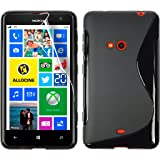S Case Rubber Back Cover For Nokia Lumia 625