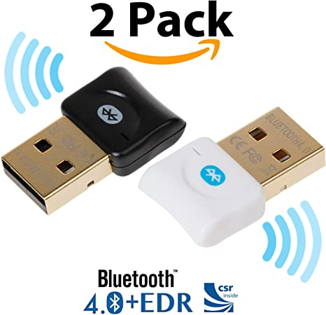 Mini USB 2.0 Bluetooth V4.0 Wireless Adapter 3Mbps for Headphone and Speaker US