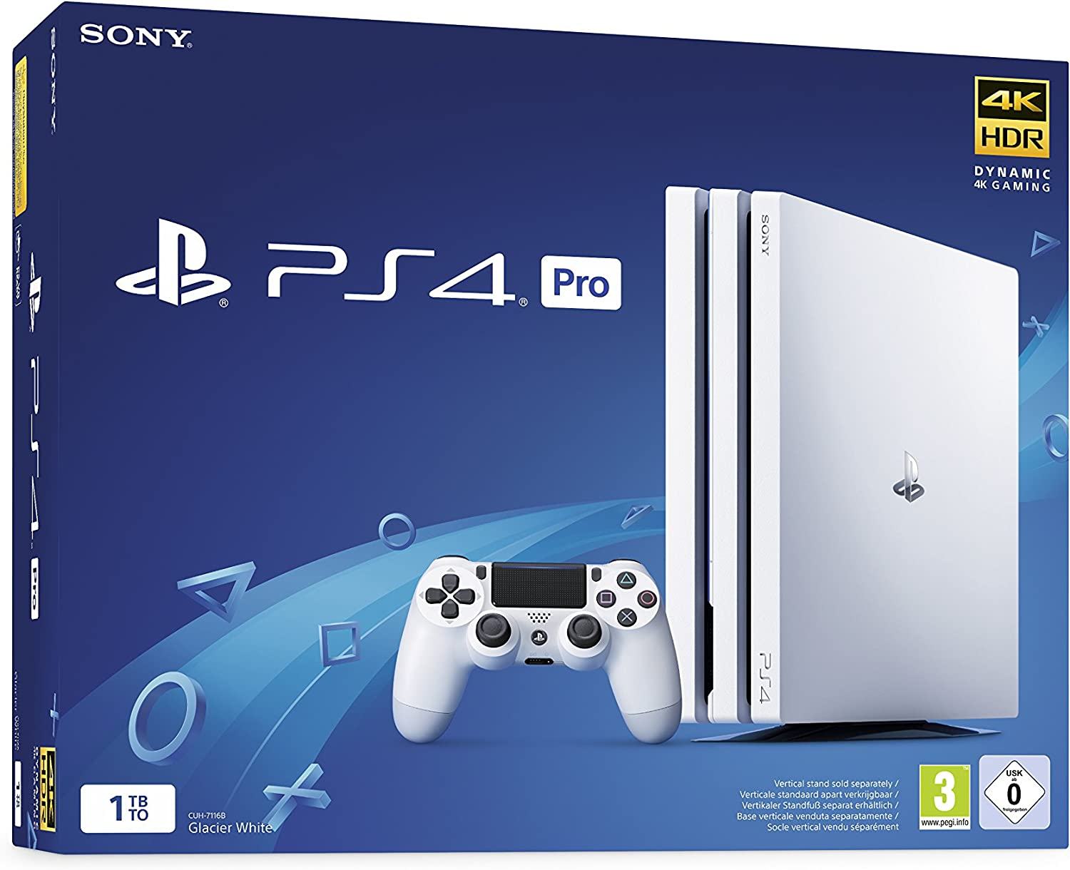 PS4 Pro 1 To G - Chassis White [Importación francesa]: Amazon.es: Videojuegos