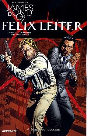 James Bond Felix Leiter #2A 2017 NM Stock Image