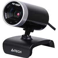 A4 Tech PK-910H, Internet Kamera, 1080p Full HD, 16MP, Mikrofonlu, Gümüş/Siyah