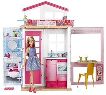 barbie mueca y su casa