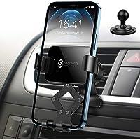Syncwire Gravity Telefoonhouder voor autoventilatie, compatibel met mobiele telefoons tot 6,5 inch, iPhone 12 Pro Max XS…