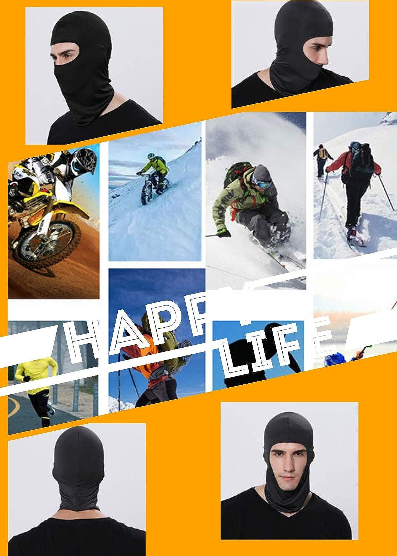 Motorcycle Balaclava Winter Face Mask Wind-Resistant Ski Mask for Women Men