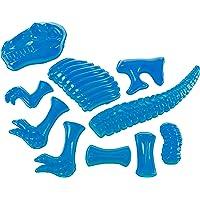 Dino Bones Mold Bright Blue 12 x 3 Durable Acrylic Sandbox Accessory Toy