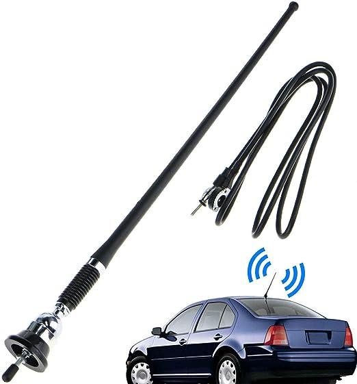 Longspeed Universal Auto Car Am/Fm Radio Antenna Aerial Stereo ...