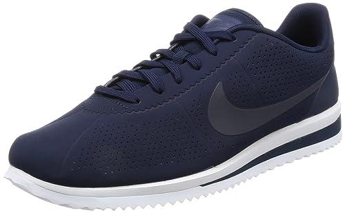 f34e0fb2 Nike Mens Cortez Ultra Moire Blue Synthetic Trainers 42 EU: Amazon.es:  Zapatos y complementos