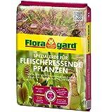 Floragard Spezialerde für fleischfressende Pflanzen 3 L • Carnivorenerde • Spezialerde zum Topfen und Umtopfen • für Sonnentau, Venusfliegenfallen und andere anspruchsvolle fleischfressende Pflanzen