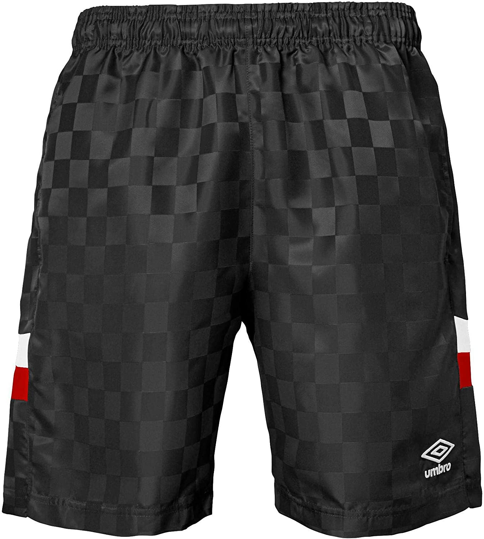 Color Options Umbro Mens Tri-Check Soccer Shorts
