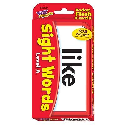 TREND Enterprises, Inc. T-23027BN Sight Words – Level A Pocket Flash Cards, 3 Sets: Industrial & Scientific