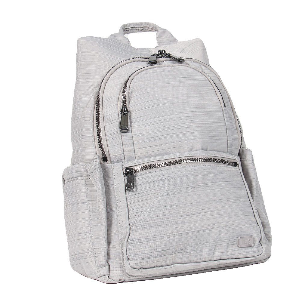 Lug Hatchback Mini Backpack, Brushed Silver, One Size (Model: HATCHBACK-BRUSHED SILVER) LUGCA