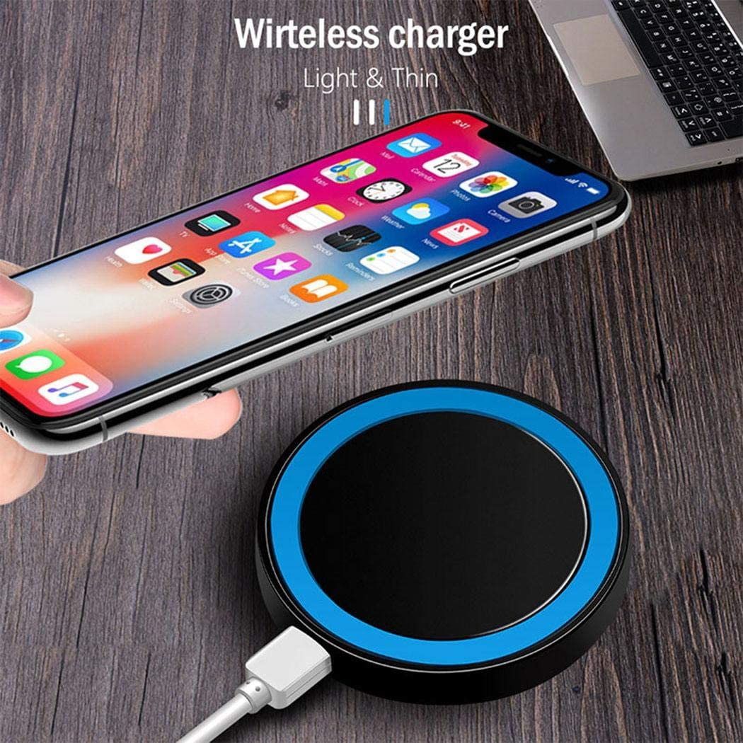 Chainscroll QI Mobile Phone Wireless Charger Transmitter Multi-function Battery Chargers