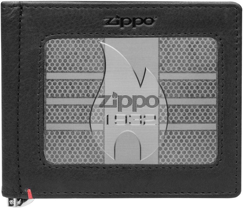 Zippo Money Clip Leather Wallets