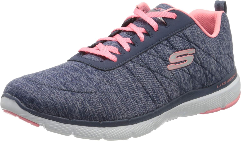 Skechers Flex Appeal 3.0-Insiders, Zapatillas Deportivas para Mujer