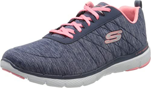 Skechers Flex Appeal 3.0 Insiders, Zapatillas Deportivas para Mujer