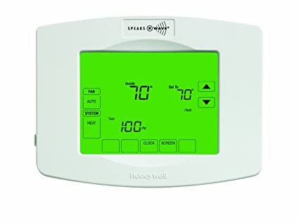 honneywell yth8320zw1007/U Z-Wave termostato programable Integrado Color Blanco