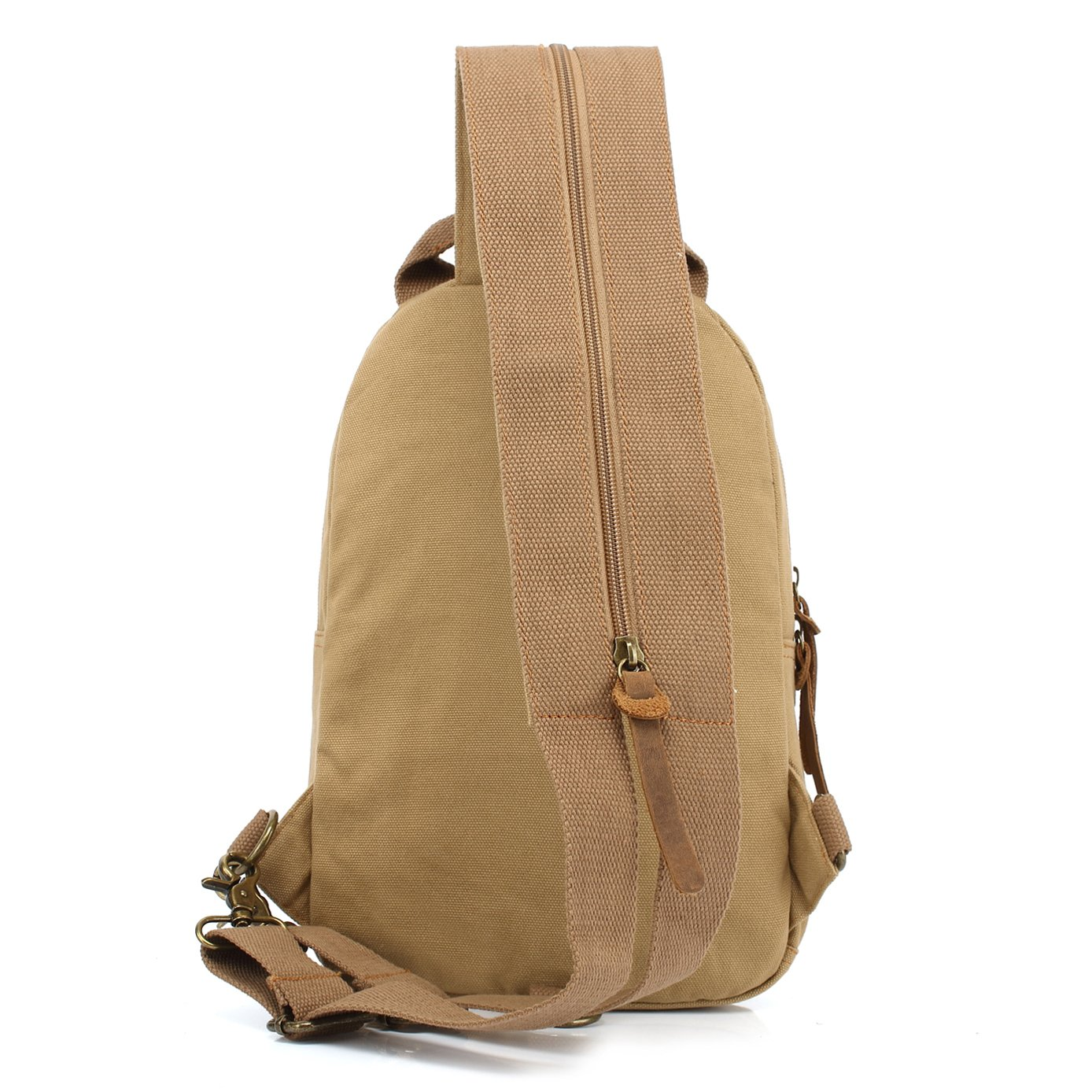 d8119d34cdc6 Amazon.com | Yimidear Unisex Small Canvas Backpack Purse Sling ...