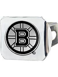 "Fanmats 15143 NHL Boston Bruins Chrome Hitch Cover, 3.4""x4"""