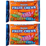Tootsie Fruit Chews Assorted Fruit Rolls -- Pack of 2 Bags (11.66 Oz Total) (Pack of 2)