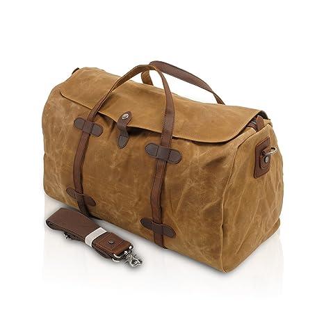 FANDARE Bolsa de Mano Hombre Mujer Oversized Bolsa de Viaje Outdoor Fitness  Handbag Bolso de c193f52dc7ac