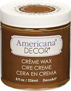 Deco Art Americana Decor Creme Wax, 8-Ounce, Golden Brown