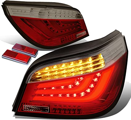 Red OSAN 4333248518 CICMOD Chopped Fender Edge LED Tail Light For Harley Davidson Iron Sportster XL 883 1200