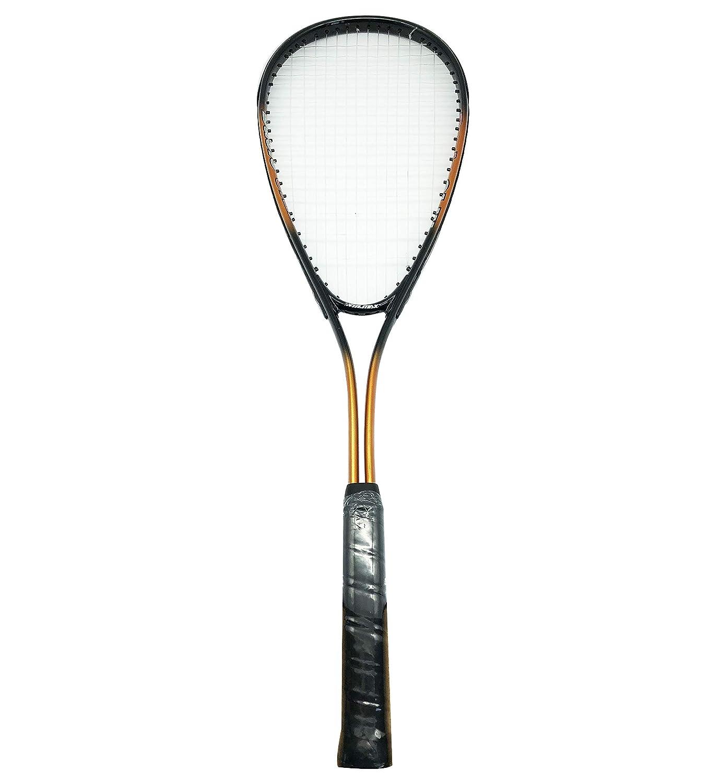 Farbe: Orange//Schwarz 200g // passend f/ür Anf/änger und Gelegenheitsspieler 69,5 cm Gesamtl/änge: ca Squash Schl/äger SR005 f/ür Erwachsene Rayline Sport Serie Gewicht: ca