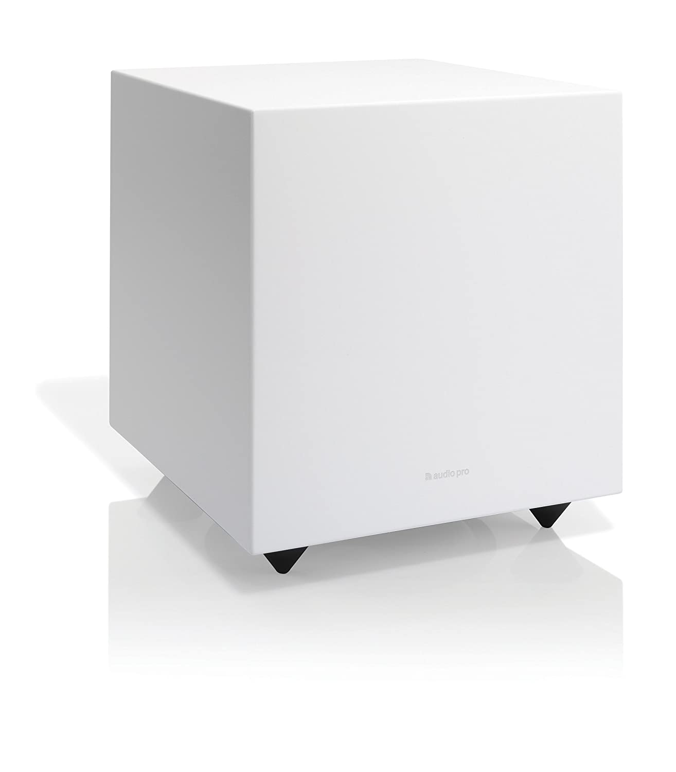 Audio Pro Addon Sub Home Theater Music Subwoofer Wired - Powerful Bass - White 7330117141413