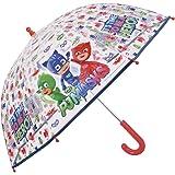 Paraguas PJ Masks de Niño - con Estampado Catboy Owlette y Gekko. - Paraguas Los