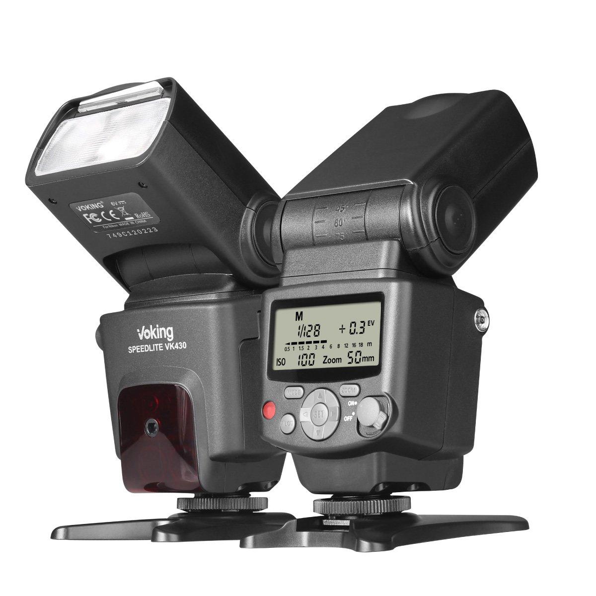 Voking Vk430 I Ttl Speedlite Flash Nikon D3400 D3300 D3200.