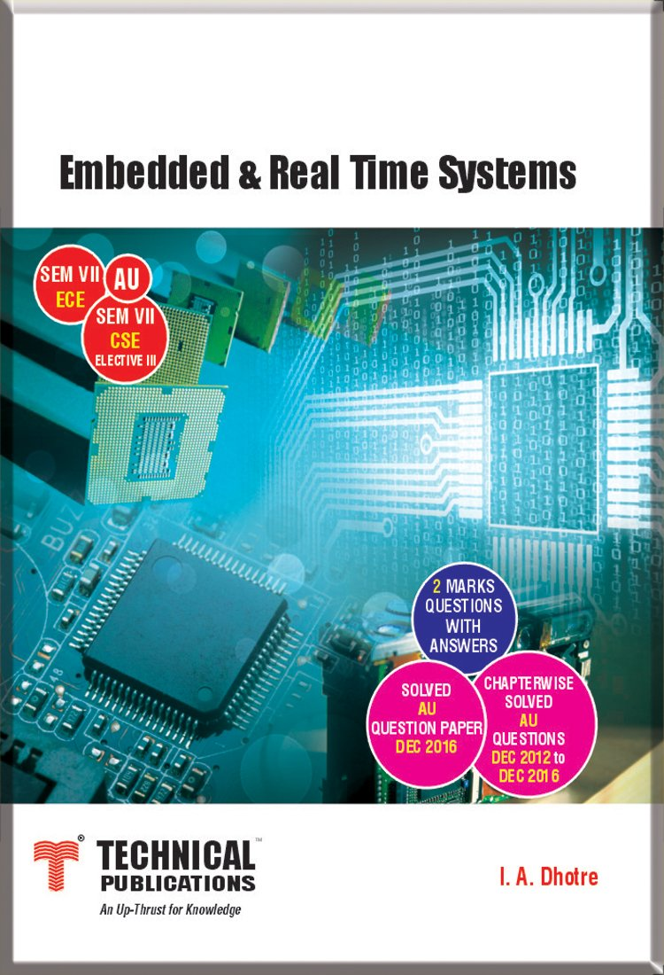 Buy Embedded and Real Time Systems for AU (SEM-VII ECE SEM