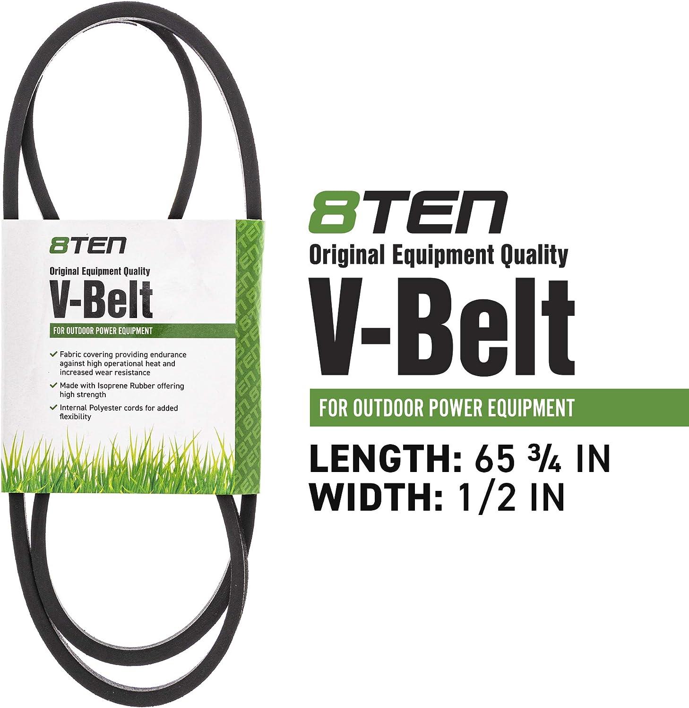 "Genuine MTD 1769767 Mower Deck Belt Fits 33/"" Troy-Bilt OEM"