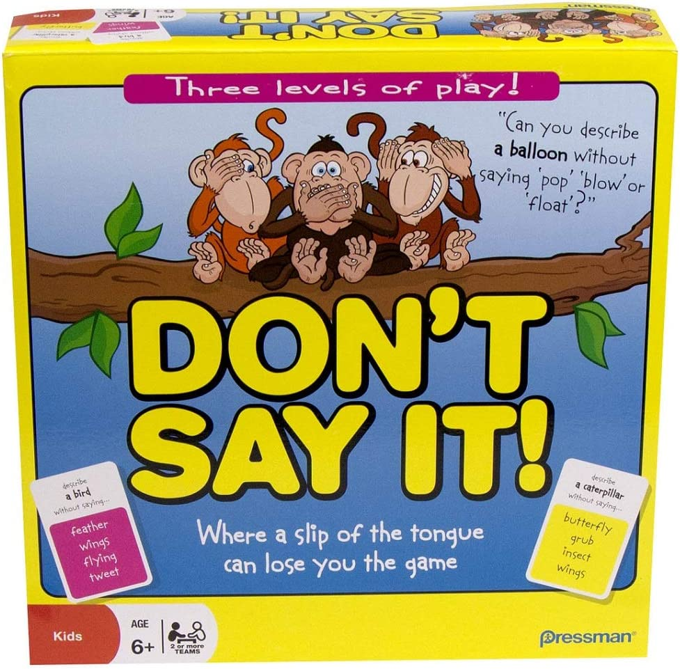 Paul Lamond Games - Dont Say it! (no lo digas) Juego en inglés ...
