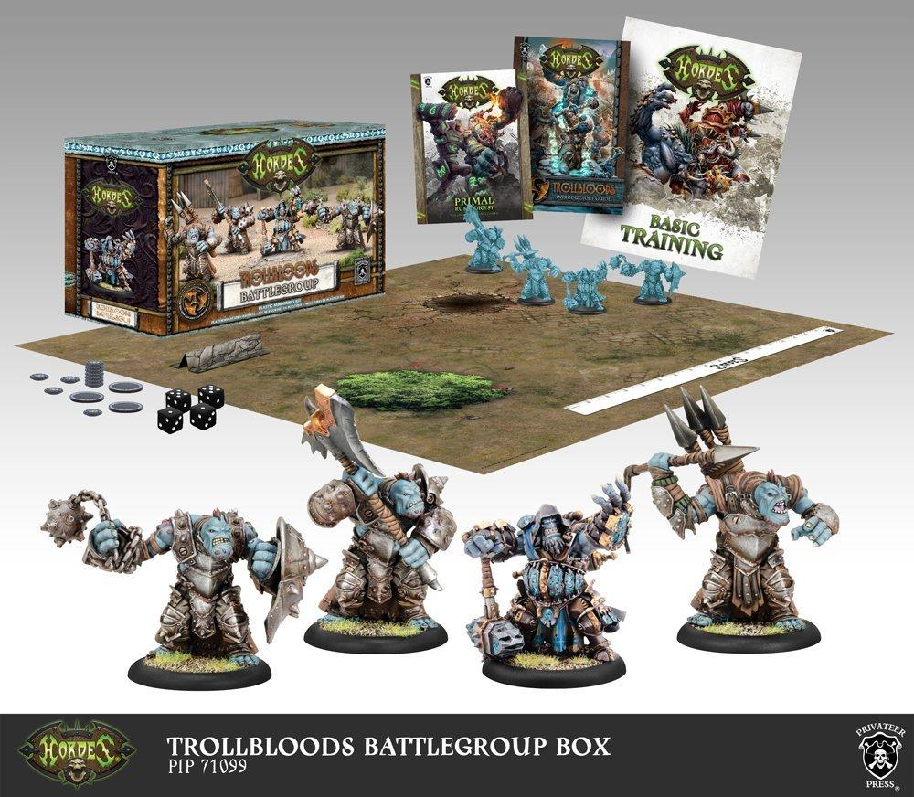 Hordes Trollbloods: Battlegroup Starter Box (Mk III) by Hordes