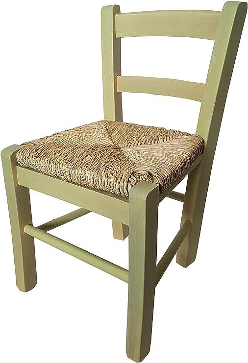 Bieco 79199202 colore bianco//verde Sedia