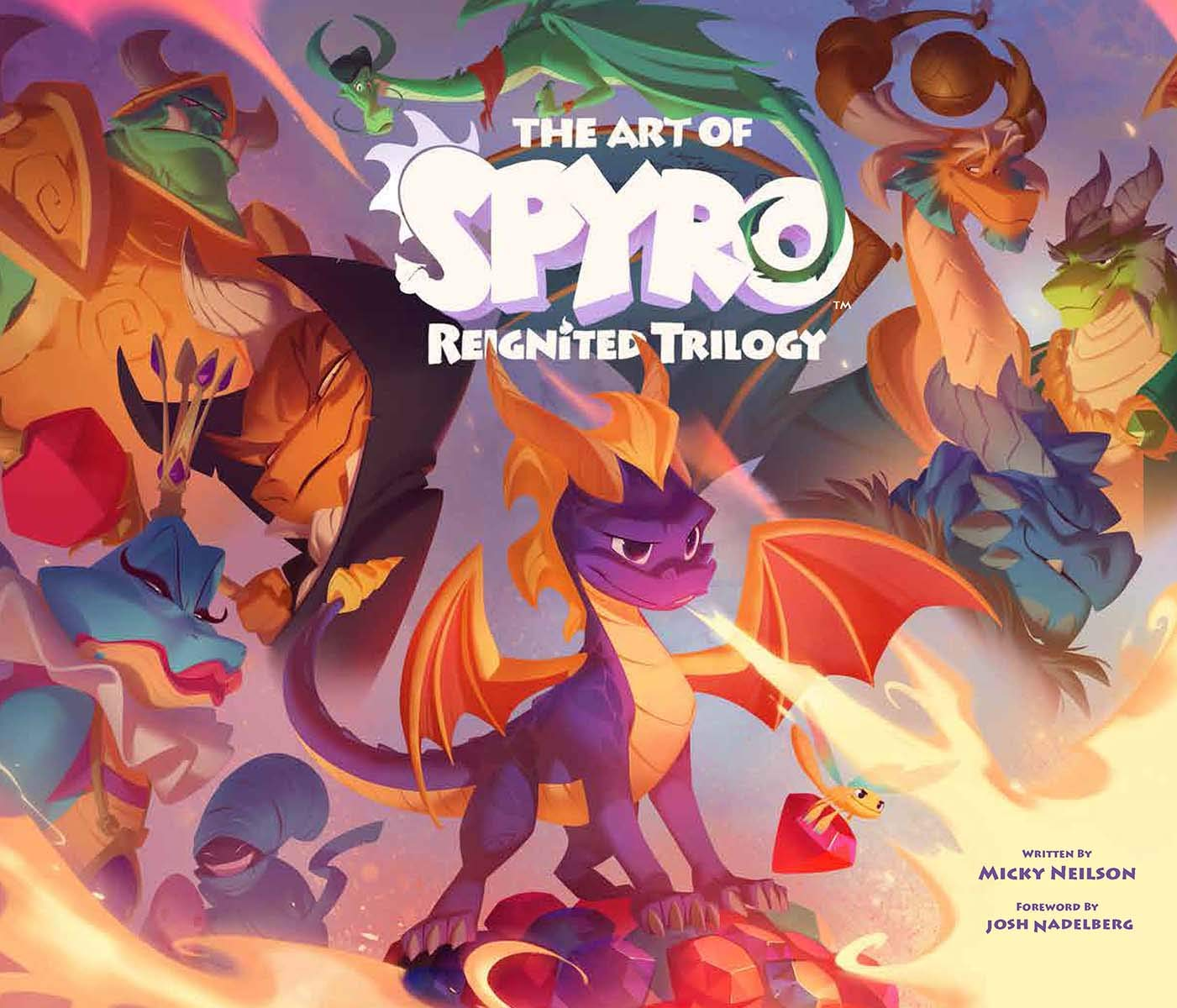 Amazon Com The Art Of Spyro Reignited Trilogy 9781945683985 Micky Neilson Books