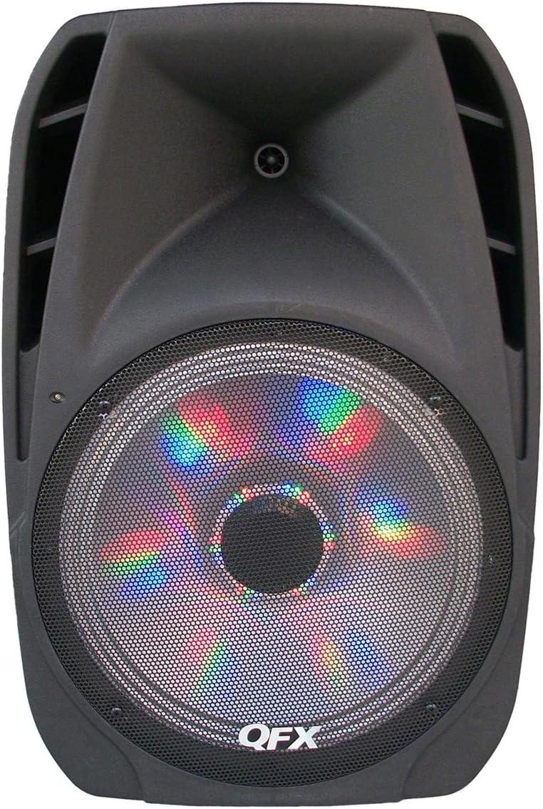 QFX PBX-61152BTL Battery Powered Bluetooth Portable Party Speaker – Black