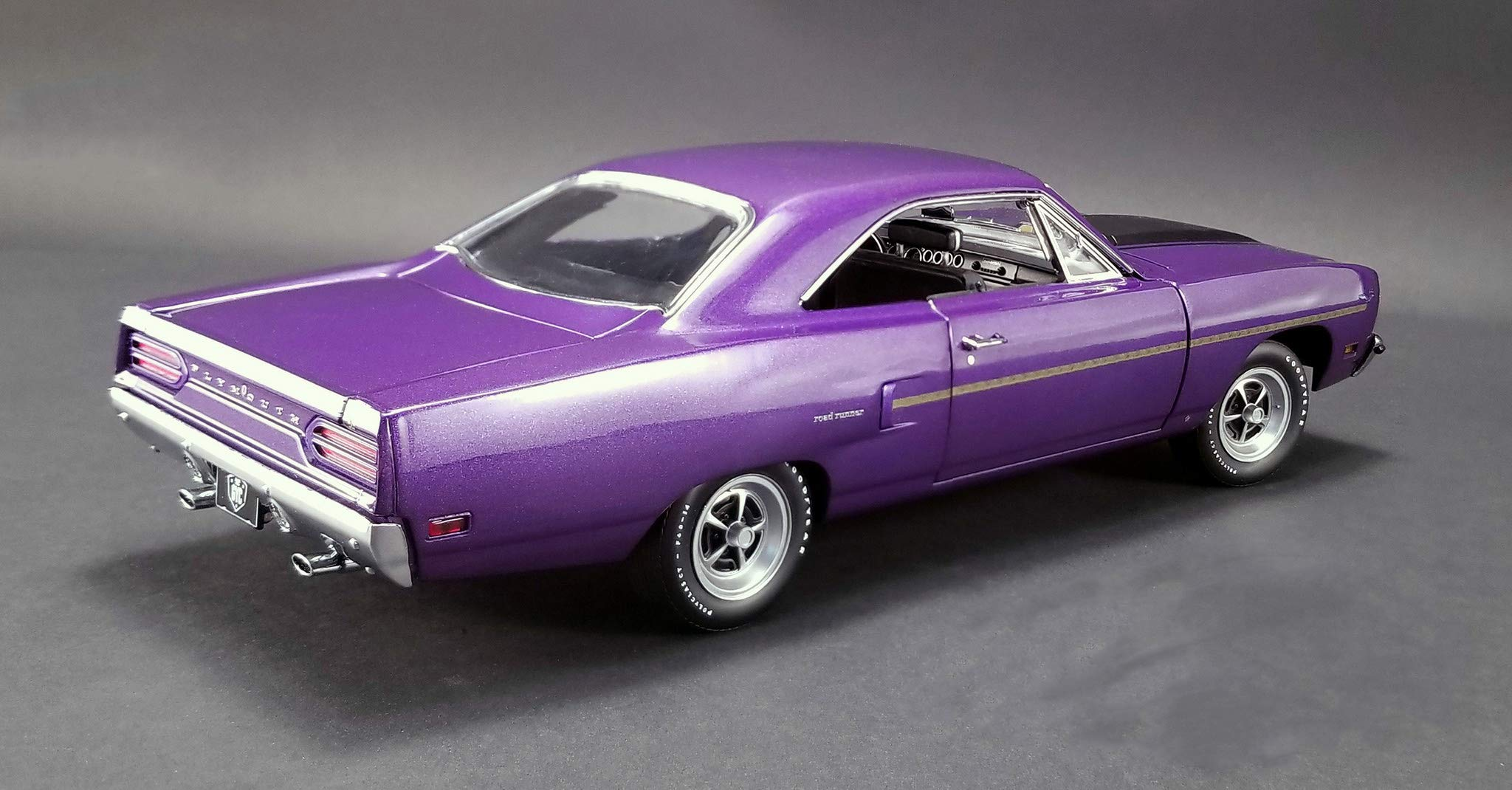 1970 Plymouth Road Runner Purple Graveyard Carz (2012) TV Series (Season 1,''Runnin' Down a Dream) Limited Edition to 732 Pieces Worldwide 1/18 Diecast Model Car by GMP 18897