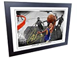 12x8 A4 Signed Stephen Curry Golden State