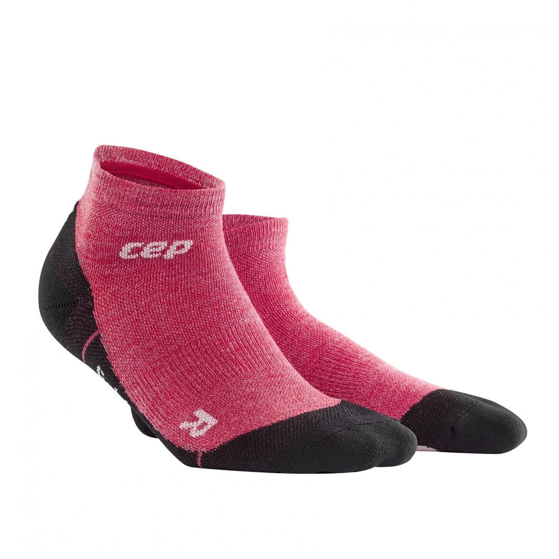 CEP Women 'sアウトドアライトローカットソックスメリノ B0789HCXHC 3 ワイルドベリー ワイルドベリー 3
