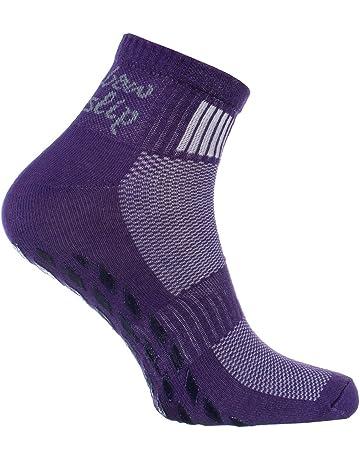 1 2 4 ou 6 paires de Chaussettes Colorées Antidérapantes ad50701211b